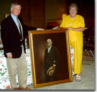 Presentation of Samuel Dibble portrait to Wofford College